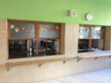 přízemí - školní jídelna
