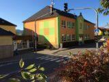 Naše škola - vstup, stará budova
